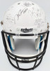 Heisman Trophy Winners Autographed Full Size White Helmet With 24 Signatures Including Barry Sanders, Bo Jackson & Marcus Mariota Steiner Holo Stock #121616