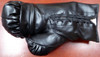 Floyd Mayweather Jr. Autographed Black Everlast Boxing Glove LH Beckett BAS Stock #121798