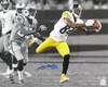 Antonio Brown Autographed 16x20 Photo Pittsburgh Steelers Beckett BAS Stock #121850