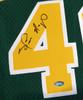 Seattle Sonics Shawn Kemp Autographed Green Adidas Hardwood Classics Jersey MCS Holo Stock #125204