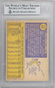 Paul Lindblad Autographed 1970 Topps Card #408 Oakland A's Beckett BAS #10265658