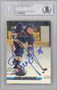 Igor Korolev Autographed 1993-94 Stadium Club Card #119 St. Louis Blues Beckett BAS #10266409