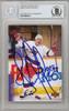 Igor Korolev Autographed 1995-96 Upper Deck Card #299 Winnipeg Jets Beckett BAS #10266519
