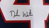 Houston Texans Deshaun Watson Autographed Blue Jersey Beckett BAS Stock #129110
