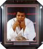 Muhammad Ali Autographed Framed 16x20 Photo JSA #Y13095