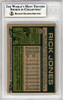 Rick Jones Autographed 1977 Topps Card #118 Seattle Mariners Beckett BAS #10378754