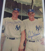 Mickey Mantle & Roger Maris Autographed Framed 7x10 Magazine Page Photo New York Yankees Beckett BAS #A74177