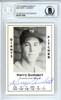 Harry Gumbert Autographed 1979 Diamond Greats Card #48 New York Giants Beckett BAS #10711624