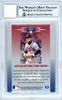 Chipper Jones Autographed 1996 Leaf Limited Card #27 Atlanta Braves Gem Mint 10 Beckett BAS #10712533