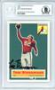 Tom Bienemann Autographed 1994 1956 Topps Archives Card #10 Chicago Cardinals Beckett BAS #10739480