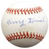 Harry Dorish Autographed Official AL Baseball Chicago White Sox Beckett BAS #F26581