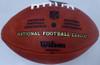 Ezekiel Elliott Autographed Official Leather NFL Football Dallas Cowboys Beckett BAS Stock #143244