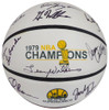 1978-79 NBA Champions Seattle Supersonics Multi Signed Autographed Basketball With 9 Signatures Including Fred Brown & Lenny Wilkens MCS Holo Stock #145851