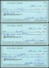 Sal Maglie Autographed 3x6 Check Brooklyn Dodgers, New York Yankees Lot Of 30 SKU #147841