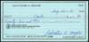 Sal Maglie Autographed 3x6 Check Brooklyn Dodgers, New York Yankees SKU #147872