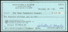 Sal Maglie Autographed 3x6 Check Brooklyn Dodgers, New York Yankees SKU #147877