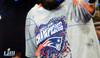 Julian Edelman Autographed 16x20 Photo New England Patriots Super Bowl LIII Trophy Beckett BAS Stock #147920
