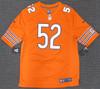 Chicago Bears Khalil Mack Autographed Orange Nike Jersey Size L Beckett BAS Stock #148306
