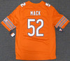 Chicago Bears Khalil Mack Autographed Orange Nike Jersey Size L Beckett BAS Stock #148306