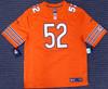 Chicago Bears Khalil Mack Autographed Orange Nike Jersey Size XL Beckett BAS Stock #148307