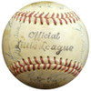 1960 New York Yankees Autographed Official Little League Baseball With 25 Total Signatures Including Roger Maris & Yogi Berra PSA/DNA #K49523