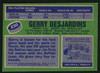 Gerry Desjardins Autographed 1976-77 Topps Card #230 Buffalo Sabres SKU #150195