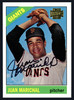 Juan Marichal Autographed 2002 Topps Archives 1966 Topps Reprint Card #114 San Francisco Giants Stock #152111