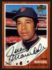 Juan Marichal Autographed 2003 Topps All Time Fan Favorites Card #38 San Francisco Giants Stock #152114