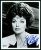 Joan Collins Autographed 8x10 Photo Actress Beckett BAS #H44381