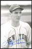 Bobby Thomson Autographed 3.5x5.5 Postcard New York Giants SKU #153954