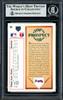 Chipper Jones Autographed 1991 Upper Deck Rookie Card #55 Atlanta Braves Beckett BAS Stock #155954