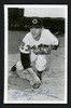 Bobby Locke Autographed Team Issued 3.5x5.5 Postcard Cleveland Indians SKU #156700