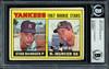 Bobby Murcer & Stan Bahnsen Autographed 1967 Topps Rookie Card #93 New York Yankees Beckett BAS #11627917