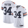 Walter Payton Unsigned Chicago Bears White Twill Nike Jersey Size M Stock #158821