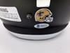 Drew Brees Autographed New Orleans Saints AMP Full Size Speed Replica Helmet Beckett BAS Stock #159125