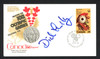 Dick Lamby Autographed First Day Cover 1976 Olympics USA Hockey SKU #159580