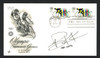 Clarence Knickman Autographed First Day Cover Olympic Cycling SKU #159586