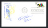 Beth Heiden Autographed First Day Cover 1980 Olympic Speed Skating SKU #159591