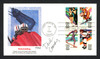 Dick Lamby Autographed First Day Cover 1976 Olympics USA Hockey SKU #159626
