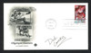 Dick Lamby Autographed First Day Cover 1976 Olympics USA Hockey SKU #159627