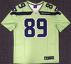 Doug Baldwin Unsigned Seattle Seahawks Action Green Nike Jersey Size XXL Stock #159827