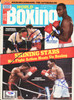 Evander Holyfield, Vinny Pazienza & Donald Curry Autographed Boxing World Magazine Cover PSA/DNA #Q95663
