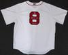 "Boston Red Sox Carl Yastrzemski Autographed White Majestic Cool Base Jersey ""TC 67"" Size XL Beckett BAS Stock #162358"