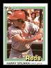 Harry Spilman Autographed 1981 Donruss Card #304 Cincinnati Reds SKU #166490