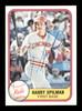 Harry Spilman Autographed 1981 Fleer Card #209 Cincinnati Reds SKU #166526