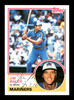 Jim Maler Autographed 1983 Topps Rookie Card #54 Seattle Mariners SKU #166711