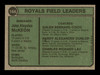 Jack McKeon & Harry Dunlop Autographed 1974 Topps Card #166 Kansas City Royals SKU #167163