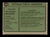 Harry Dunlop Autographed 1974 Topps Card #166 Kansas City Royals Coach SKU #167165