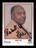 Robert Bob W. Lee Autographed 1991 Kayo Card #158 President IBF SKU #167226