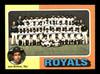 Harry Dunlop Autographed 1975 Topps Team Card #72 Kansas City Royals SKU #168356